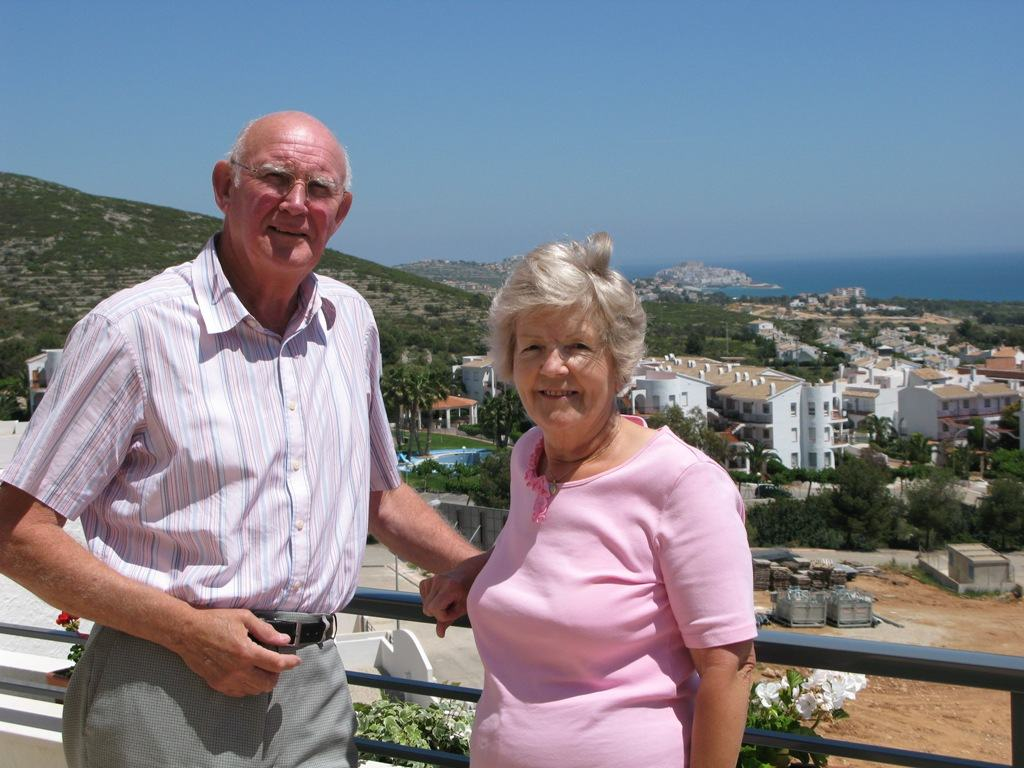 Desmond & Jenny Richards  in Tierra de Irta, Peñiscola