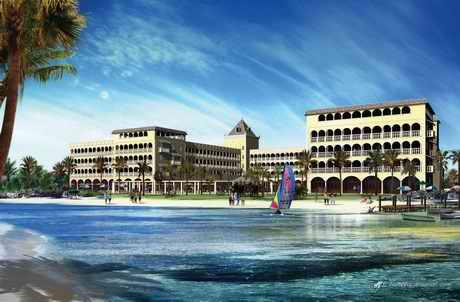 Beach House Hotel plans, Desert Springs, Almeria