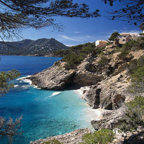 Mallorcan coastline