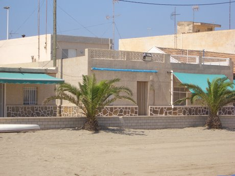 The Taylor's house on the beach in Murcia