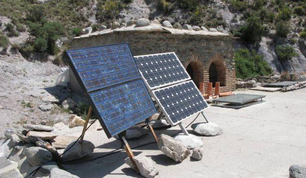 renewable energy green solar panels spain