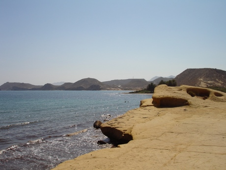 The Murcian coastline is still unspoilt in places