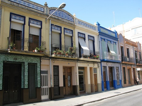Town houses in Valencia City