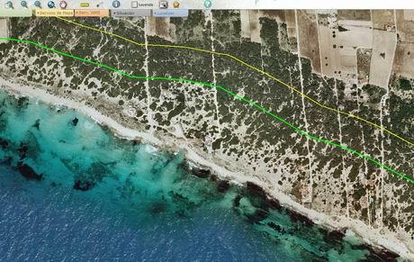 Spanish ley de costas coastal law boundaries