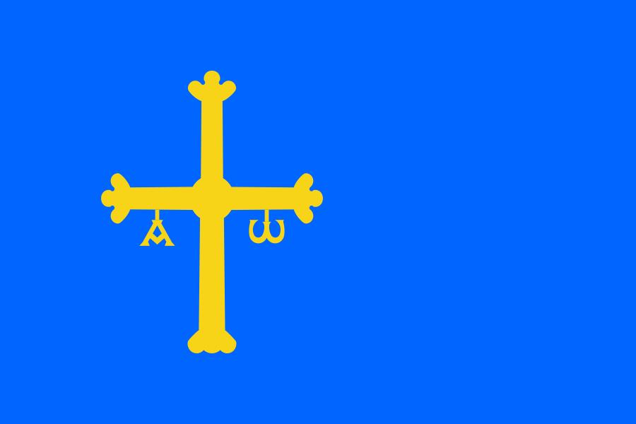 Flag of Asturias