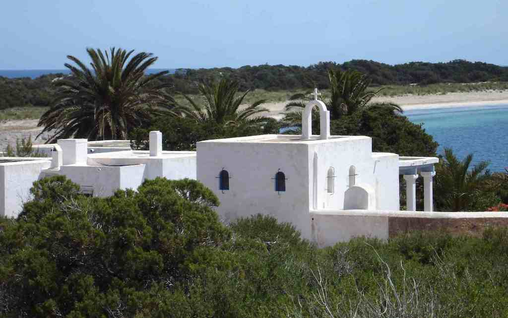 Espalmador private island off ibiza and formentera in the balearics