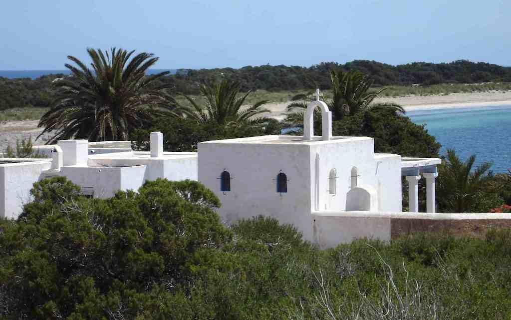 Espalmador private island off ibiza and formentera in the balearics