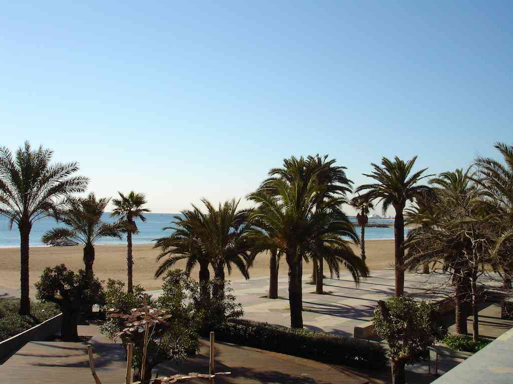 Barcelona beaches Sant Marti Poble Nou