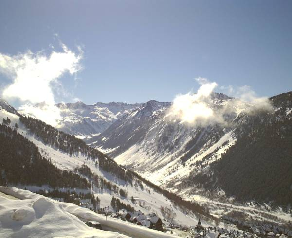 Baqueira-Beret in the Pyrenees