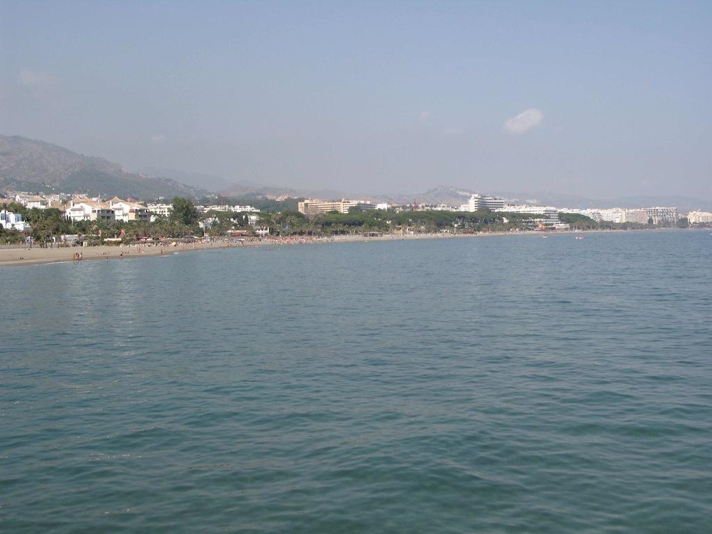 Marbella coast line