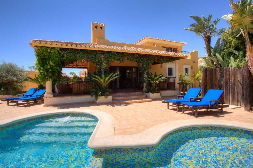 Villa for sale at desert springs resort almanzora almeria spain