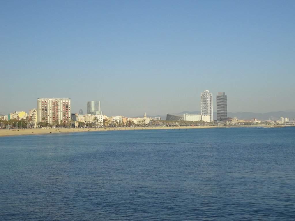barcelona beachfront property barceloneta