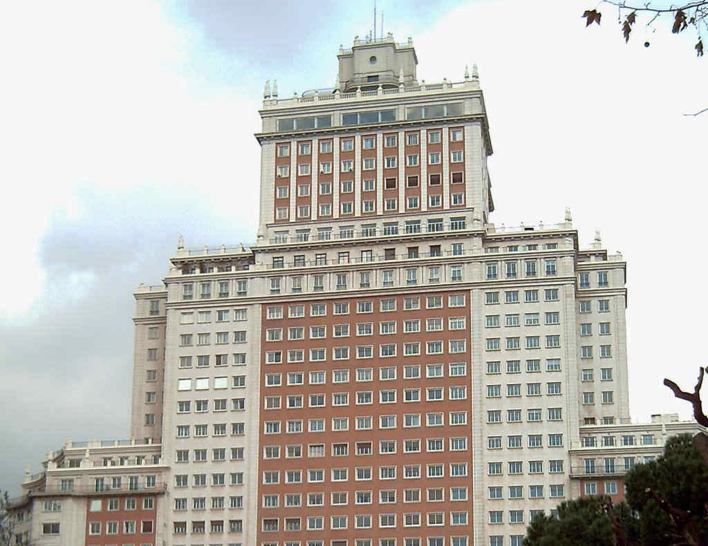 Edificio Espana Madrid
