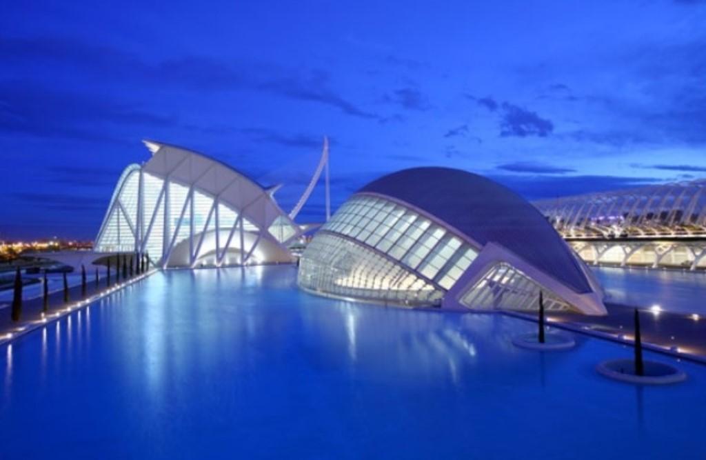 City of Arts and Science, Valencia, designed by Santiago Calatrava