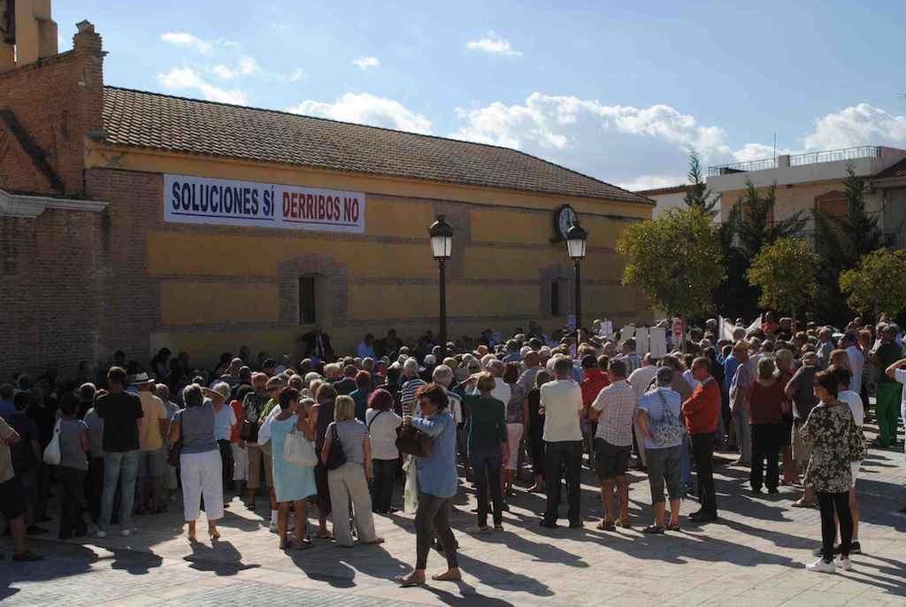 Protesting for property rights in Almeria
