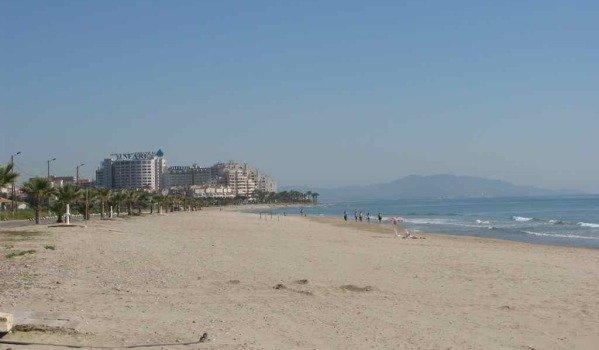 Marina d'Or coastline