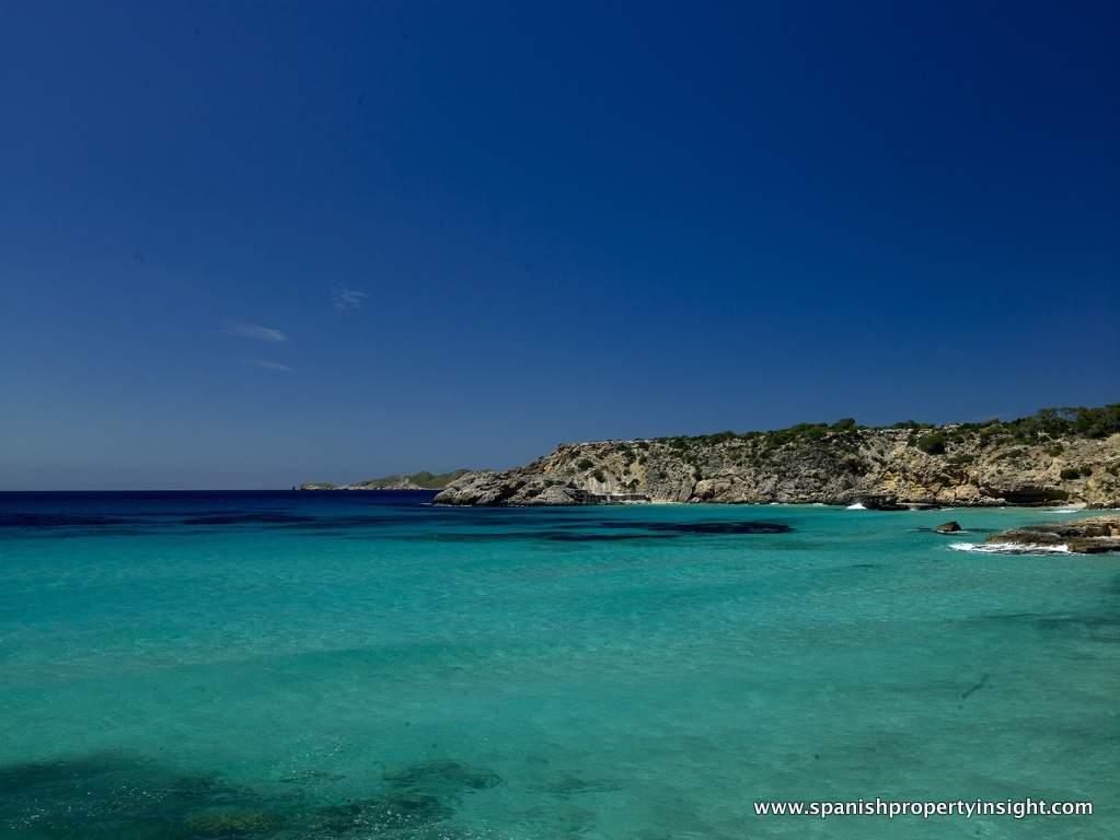 West Ibiza coastline