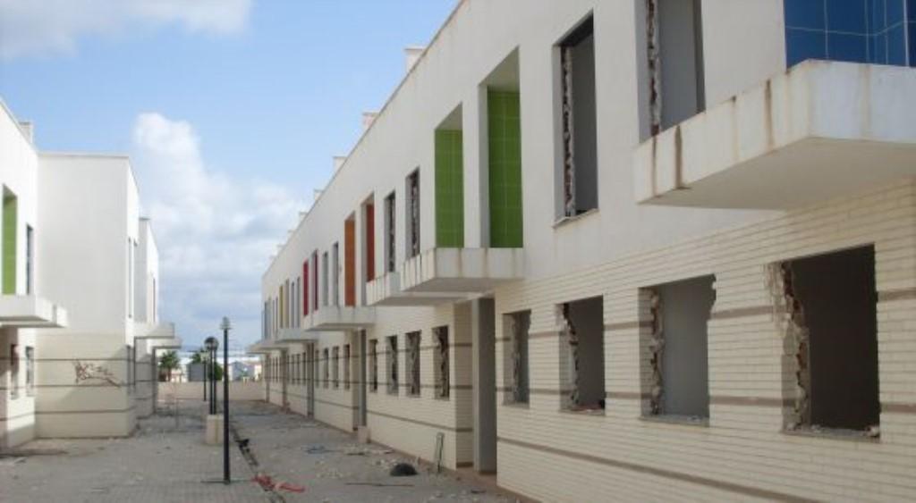 Unfinished development in Callosa de Segura (Plataforma Anticorrupcion Defensa de la Huerta)