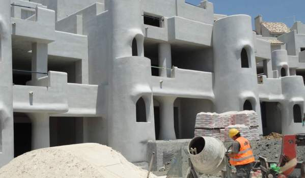 home building cement use spain