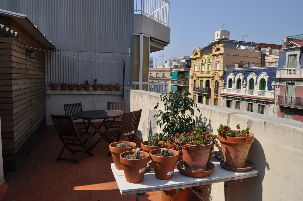 Holiday rental flat in Barcelona