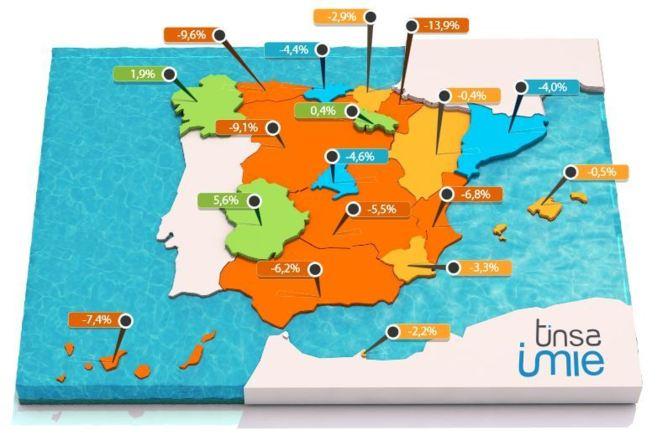 tinsa spanish house price index