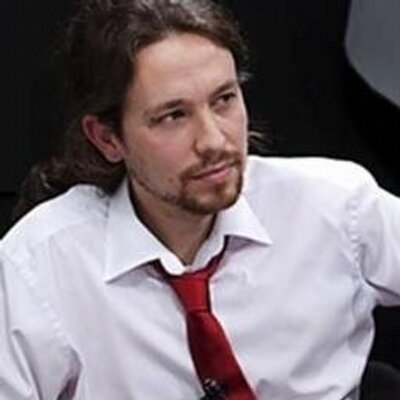 Pablo Iglesias, founder of Podemos