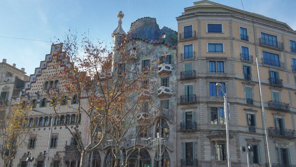 Barcelona property on Paseo de Gracia