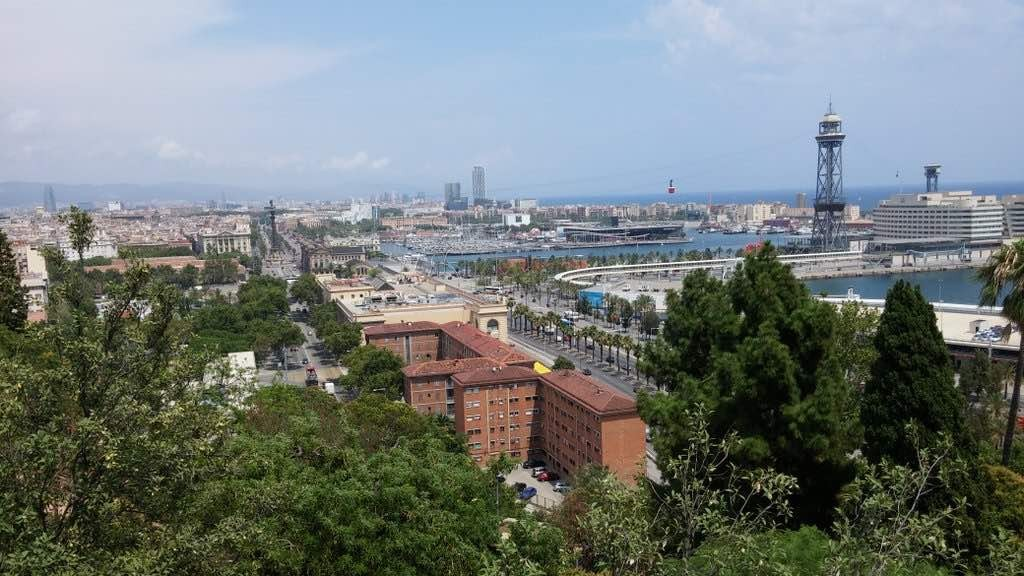 barcelona property on the mediterranean sea