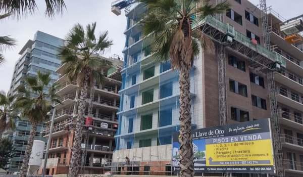 New development in Barcelona ada colau social housing quota