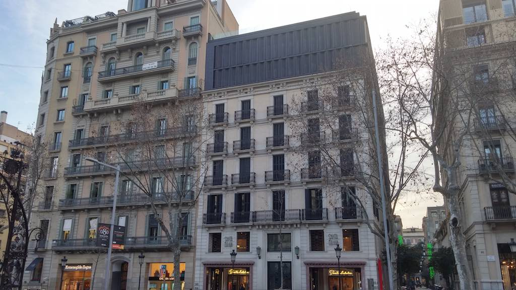 Prime property on Barcelona's Paseo de Gracia