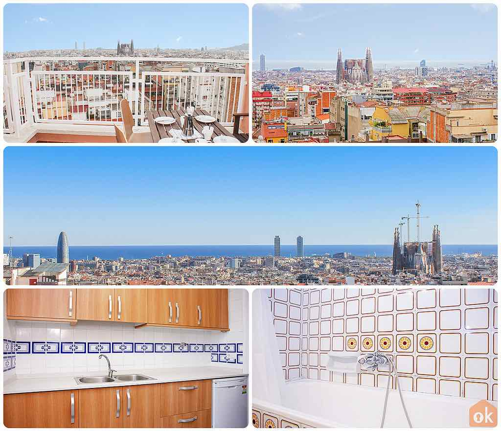 barcelona holiday rental flat