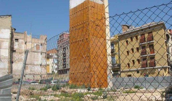 Urban land in Valencia city