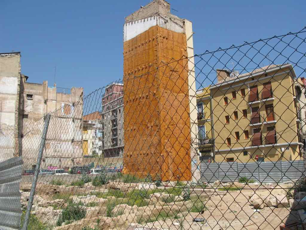 Urban land in Valencia city