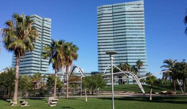 Illa del Mar, Diagonal Mar Barcelona, in the Sant Marti Poblenou district, where the time on market is getting longer.