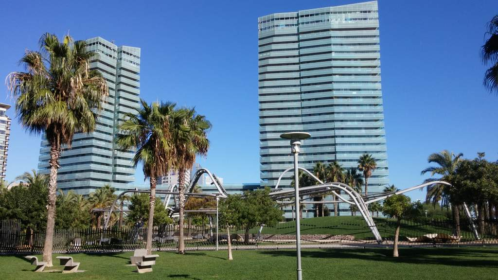 Illa del Mar, Diagonal Mar Barcelona, in the Sant Marti Poblenou district, where foreign money has had a big impact on house prices
