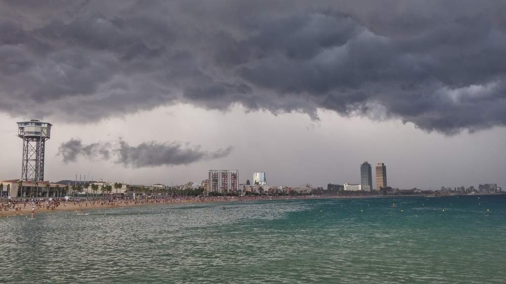 Barcelona,. Storm clouds brewing over the tourist industry