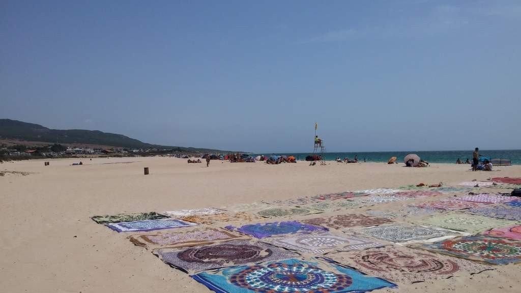 Valdevaqueros beach, near Tarifa