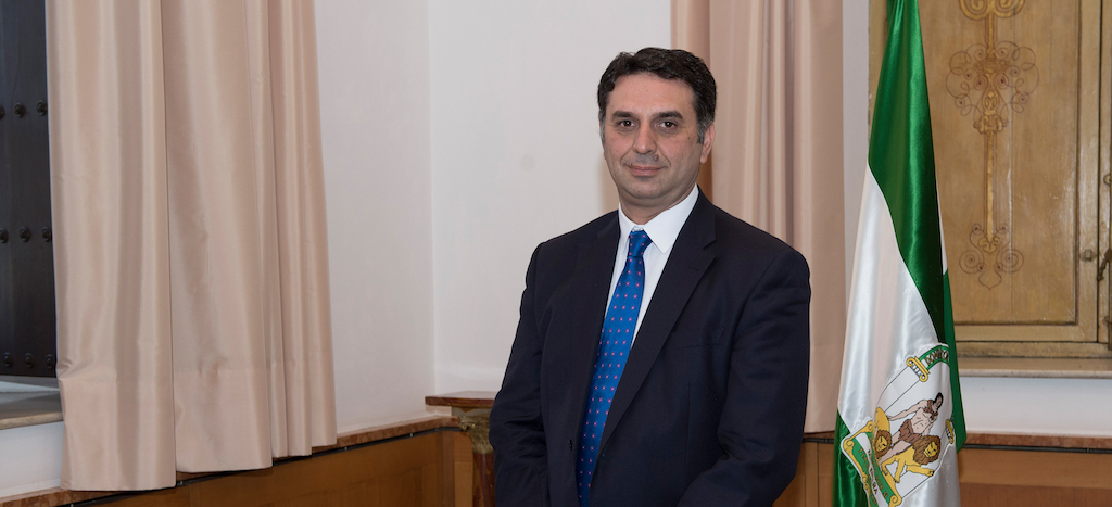 Javier Fernández, head of the Tourism and Sports Department of the Junta de Andalucía