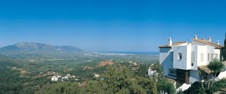 La Mairena residential estate, near Marbella.