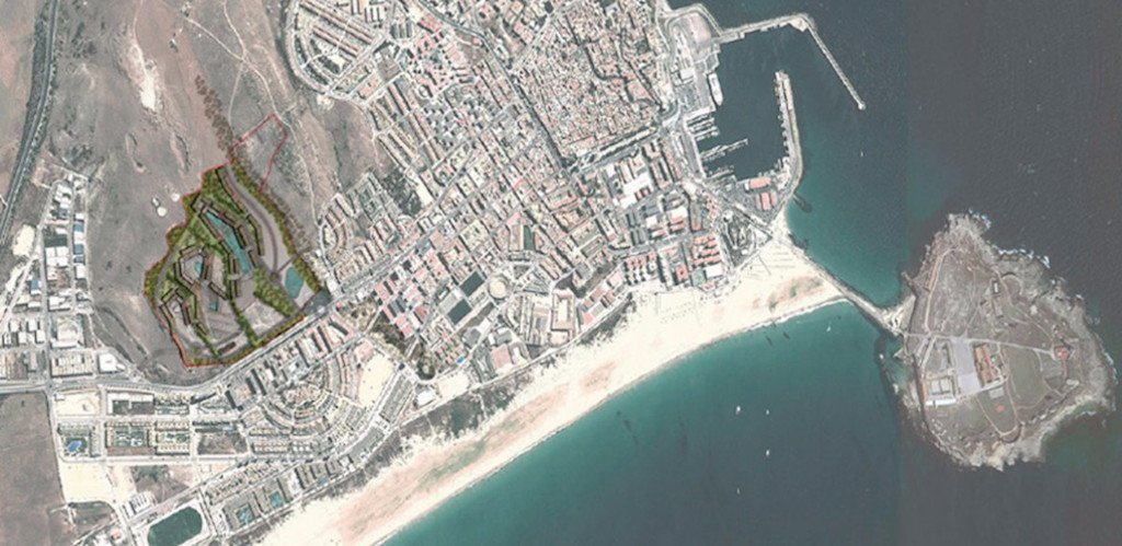 Tarifa Surf City location