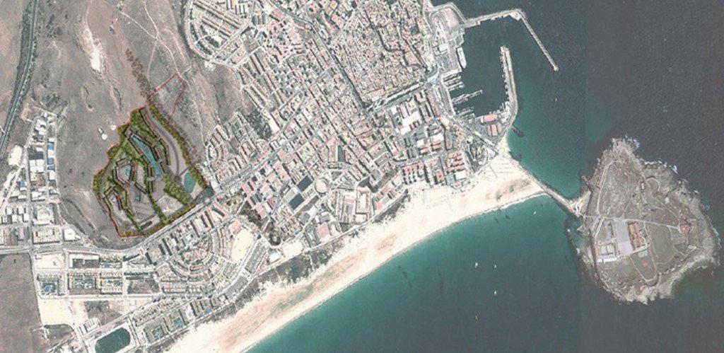 Tarifa Surf City location