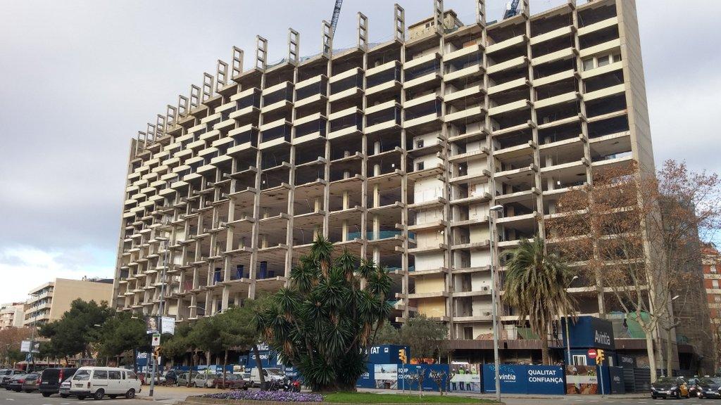 new development market Barcelona