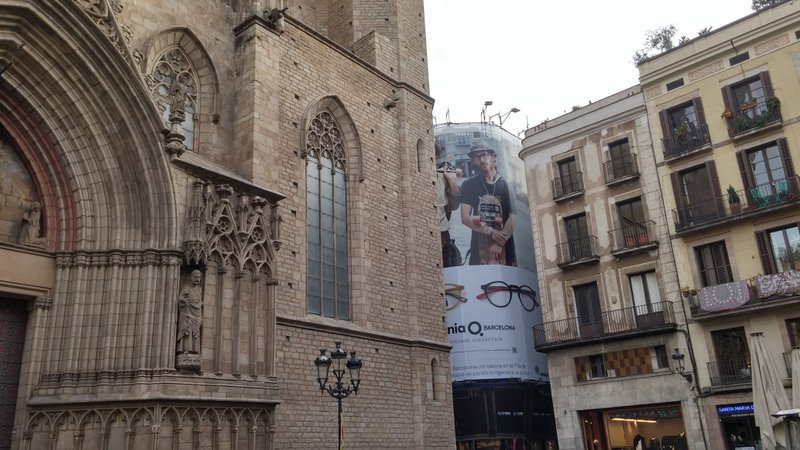 Barcelona's Born district, where demand for tourist accommodation is putting pressure on supply.