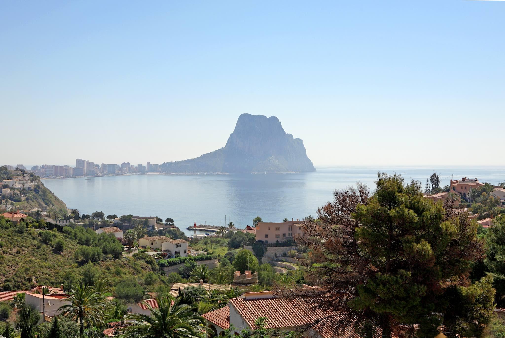 Calpe Beach new development for sale costa blanca north valencian region spain