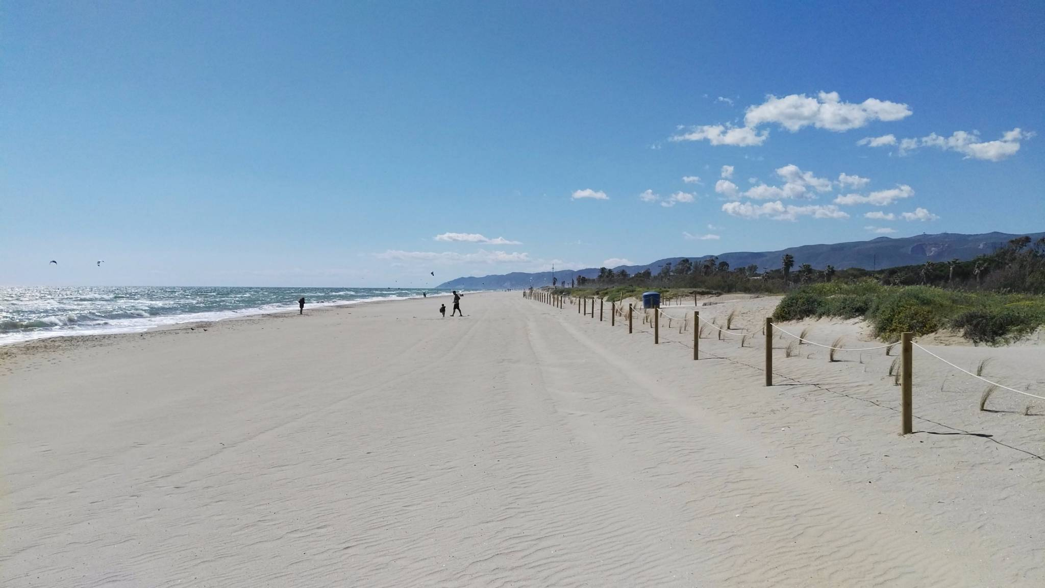 Gavà Mar beach, south of Barcelona, where house prices rose the most on the Spanish coast in Q1