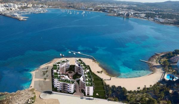 Punta Pinet Private Condominium Apartments new development for sale in ibiza
