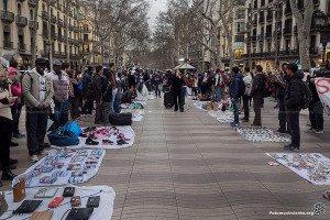 top manta in Barcelona