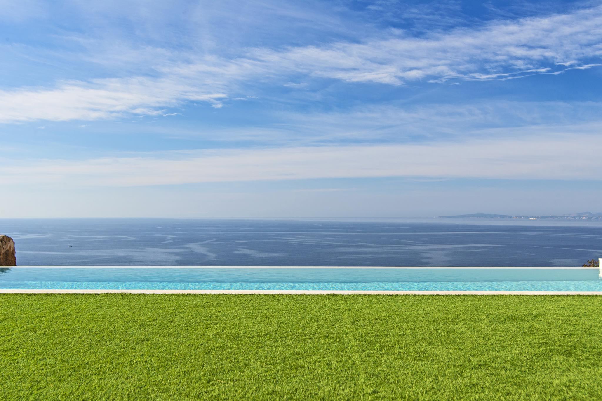 Engel & Völkers Ultra modern villa with sea views in south Mallorca (Sa Torre).  €3.5M