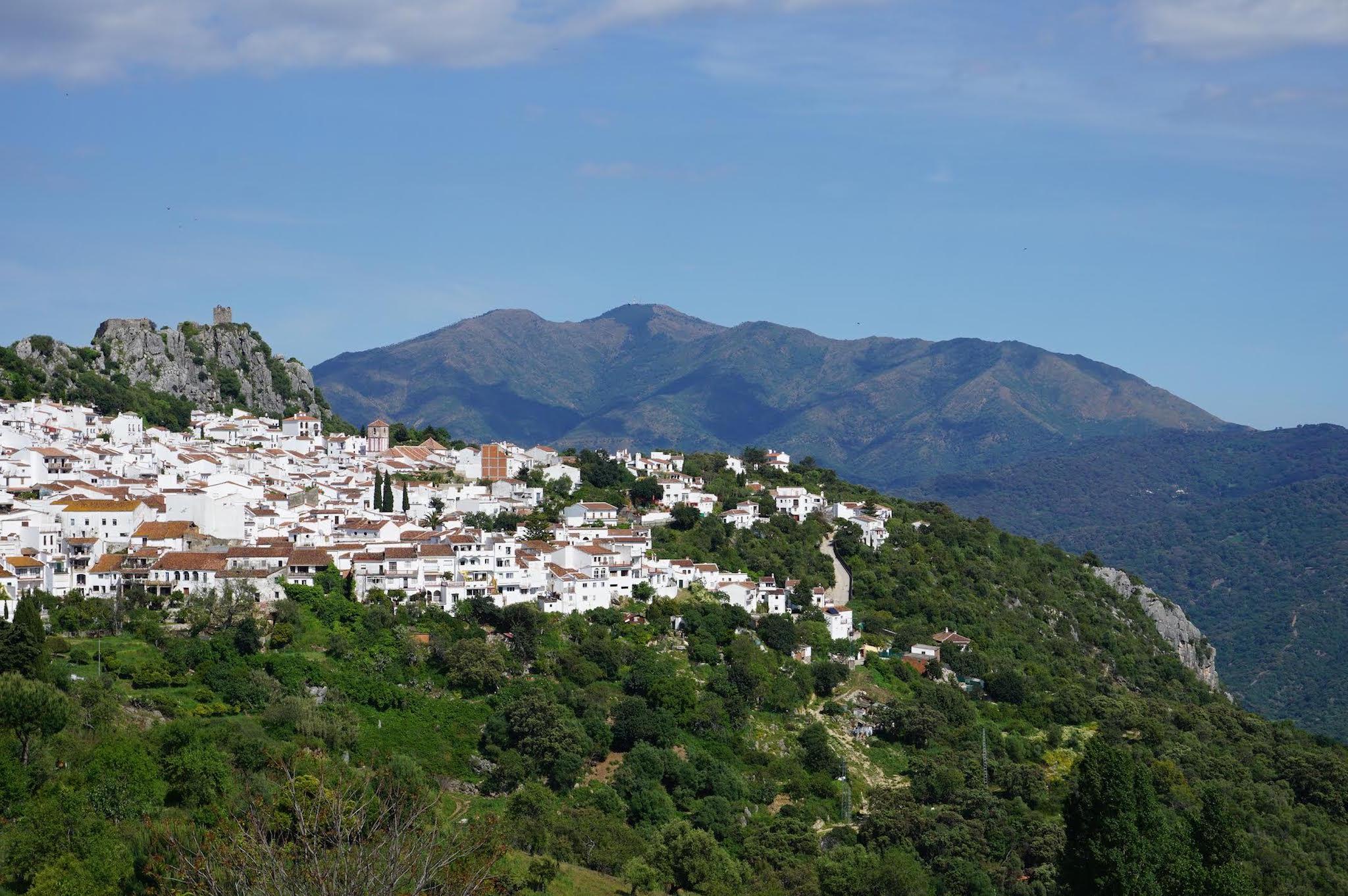 Gaucín, one of the quintessential 'pueblos blancos' of Andalucía