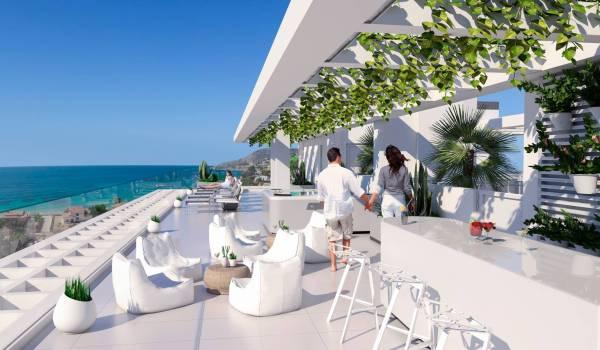Calpe Beach new development for sale in Calpe, North Costa Blanca, Alicante province, Spain